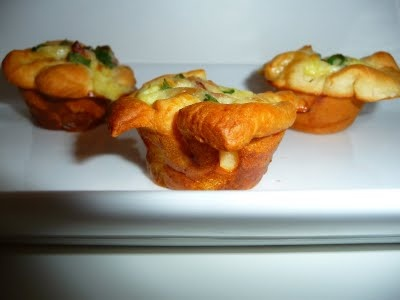 Crescent Bacon and Cheese Tart | I Love Cooking! | Pinterest