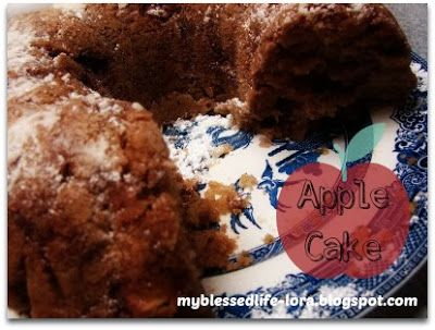 Chopped Apple Cake | Made it & Loved it | Pinterest