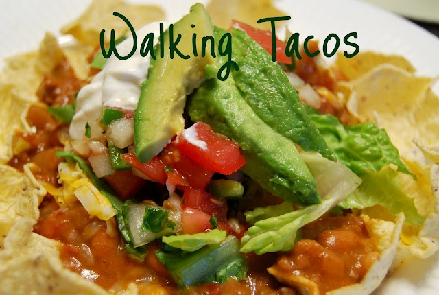 Walking Tacos (good for a large group)