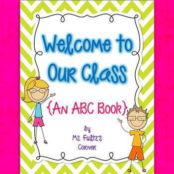 Cute ABC Book Template for the end of the year