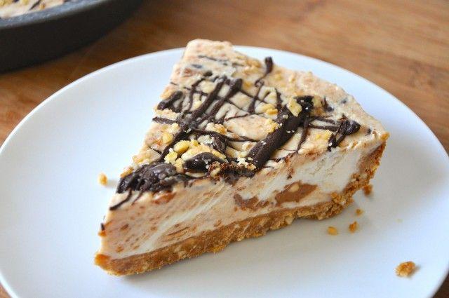 Easy Vegan Nutter Butter Peanut Butter Ice Cream Pie