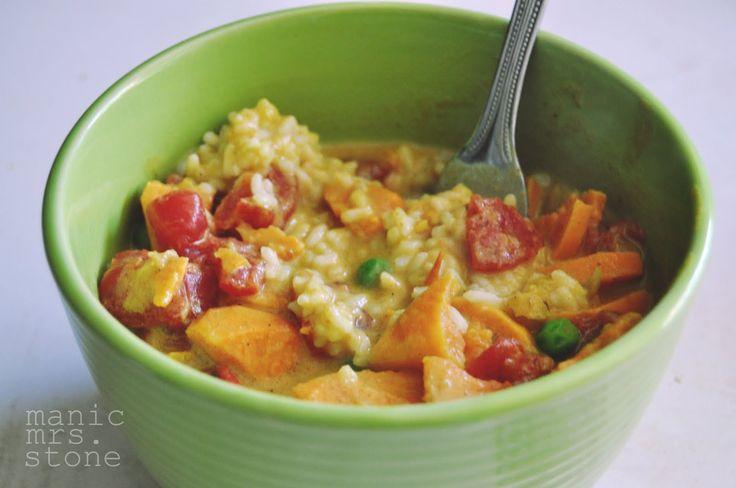 Sweet potato & chickpea curry.   Feeding my Wiser Self   Pinterest