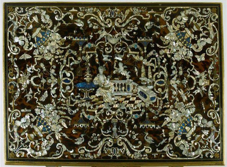 Bureau plat à entretoise, dit Table de Vénus, vers 1680 - Paris, Musée du Louvre