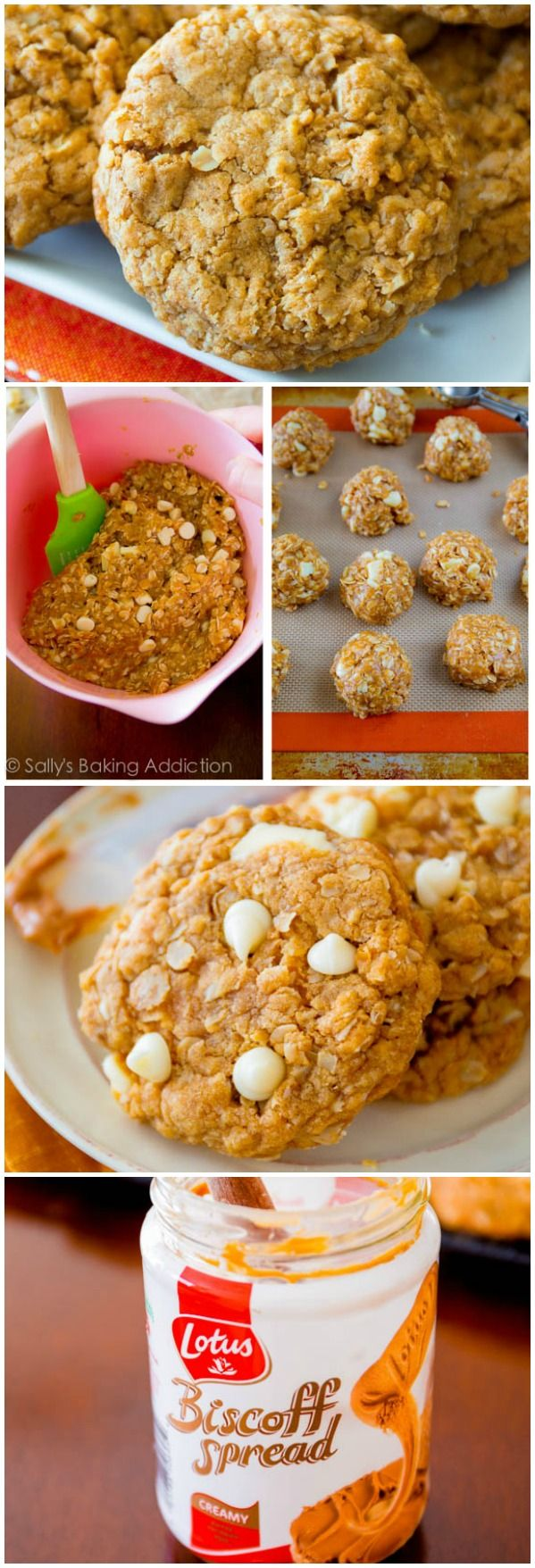 ... , soft + chewy Biscoff Oatmeal Cookies. Quick, easy, irresistible