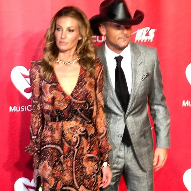 Faith Hill + Tim McGraw #MusiCares Person Of The Year - @thegrammys- #webstagram