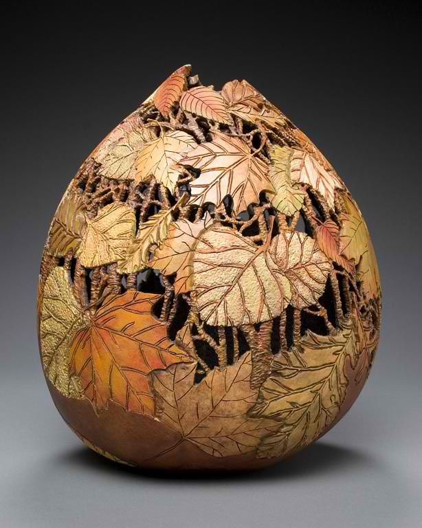 Gourd carving art by marilyn sunderland for the home for Gourd carving patterns