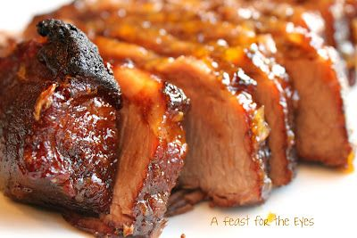 Braised Brisket with Bourbon-Peach Glaze | Beef, its whats for dinner ...