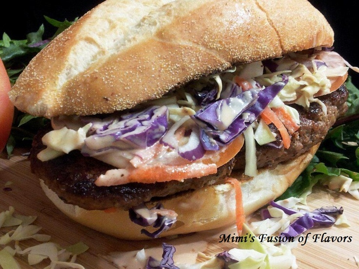 dominican hamburger or chimichurri food caribbean