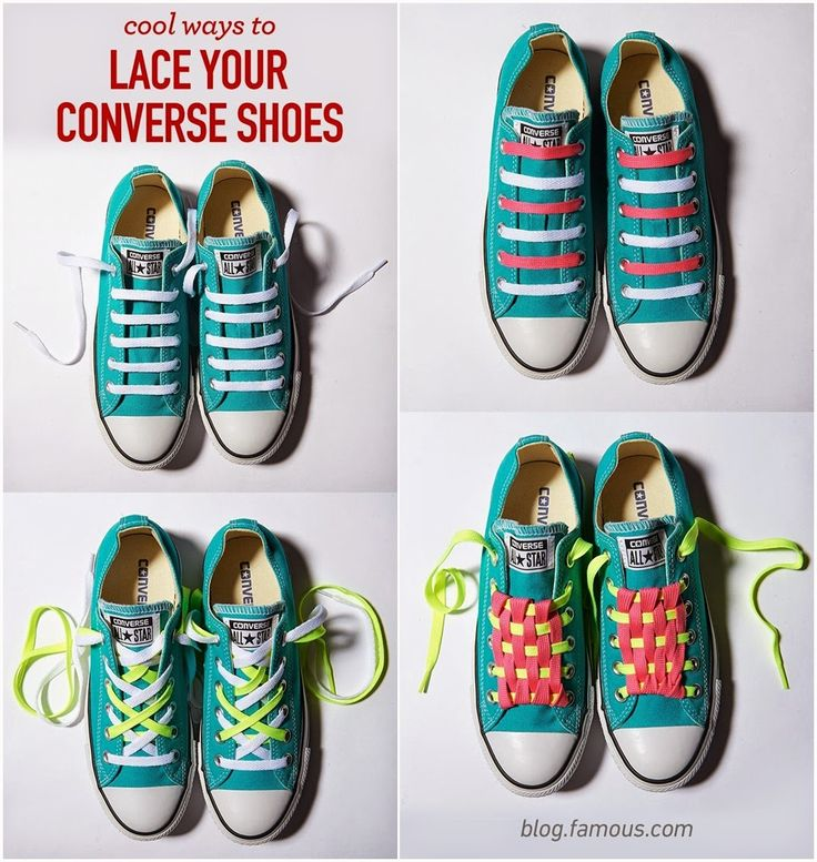 Cool Ways To Lace Your Converse Shoes