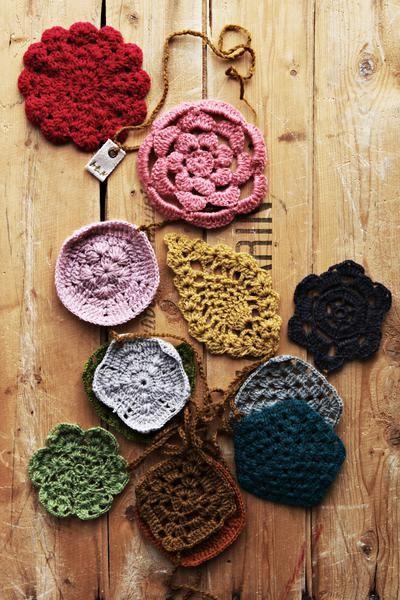Crochet Hair Garland : CROCHET GARLAND - NUMERO 74
