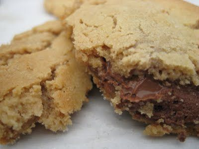 Peanut Butter Snickers Cookies | food | Pinterest