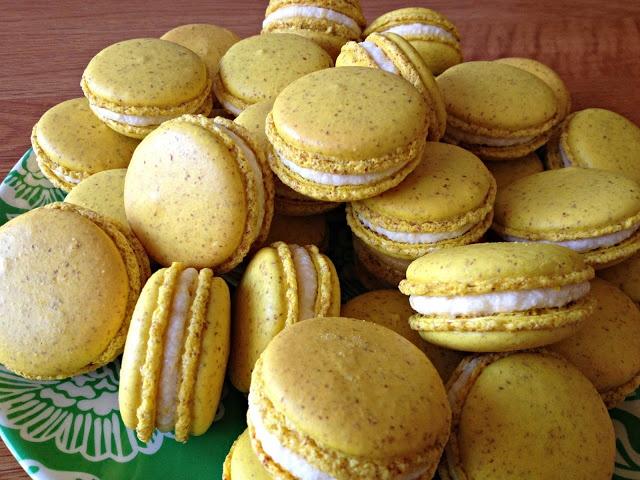 Meyer Lemon Macarons Recipe — Dishmaps