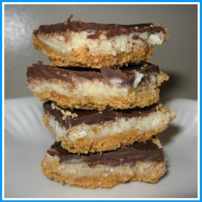 coconut cream pie bars - Bing Images | Sweet Tooth | Pinterest