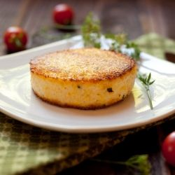 Pan Fried Polenta: easy way to used leftover polenta makes for a great ...