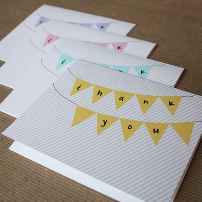 Thank You Cards Simple And Cute Xx Diy Crafts Gifts
