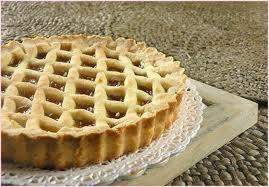 Italian Jam Tart‒Crostata--this would be great iwth lemon curd