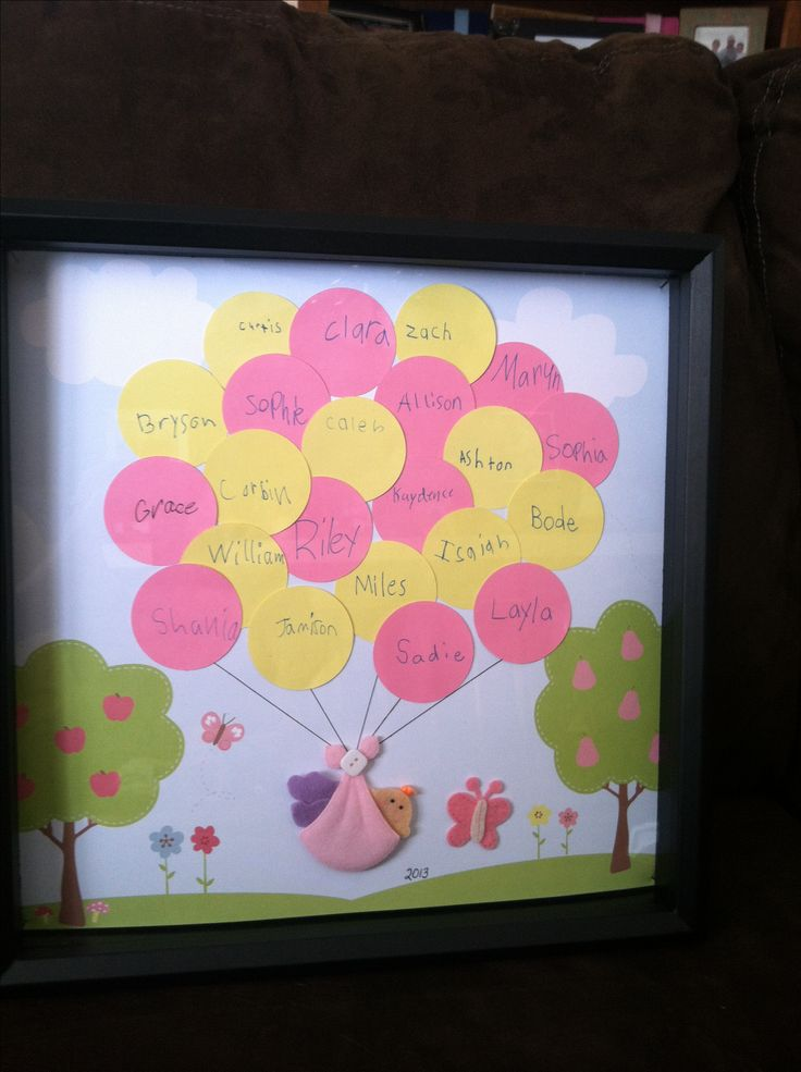 Baby Gift Ideas For Teachers From Students : Teacher baby shower gift from class school ideas