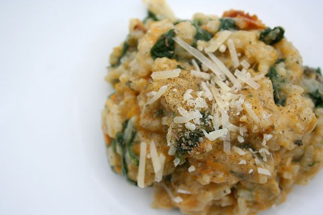 Roasted Butternut Squash Risotto | Kitchen Chemistry: Vegetarian | Pi ...