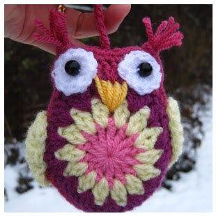 Crochet Tutorial Owl : crochet owls