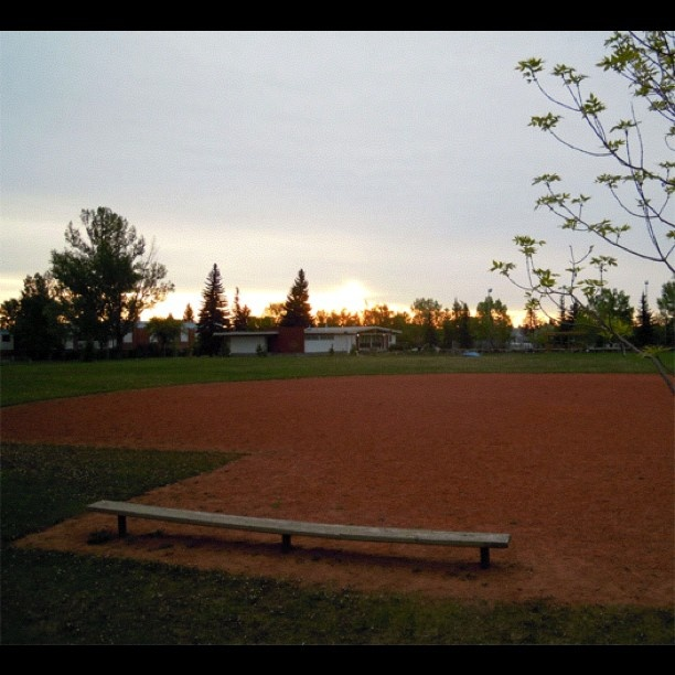 Sunrise on the Diamond