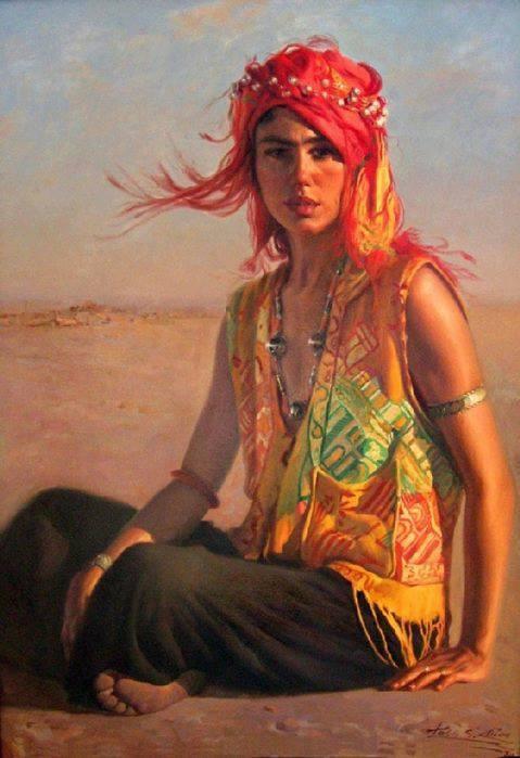 Amazing art paintings of women pinterest for Amazing art paintings
