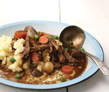 ... this: short ribs , braised short ribs and creamy mashed potatoes