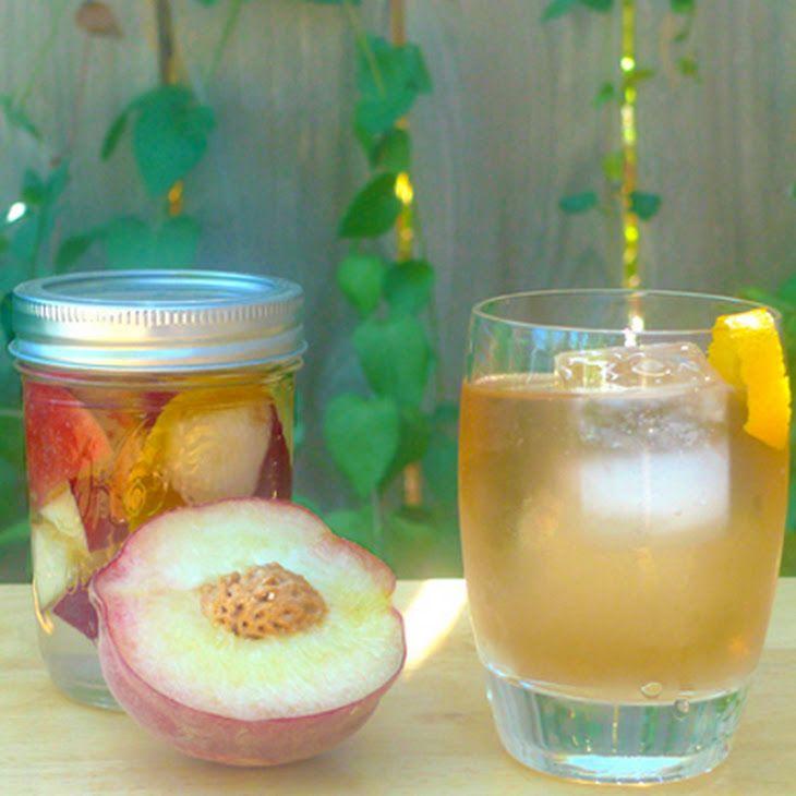 DIY Peach Liqueur | Party Food & Drinks | Pinterest