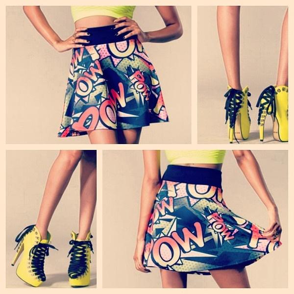 Pow Pow Skirt - Vanity Row