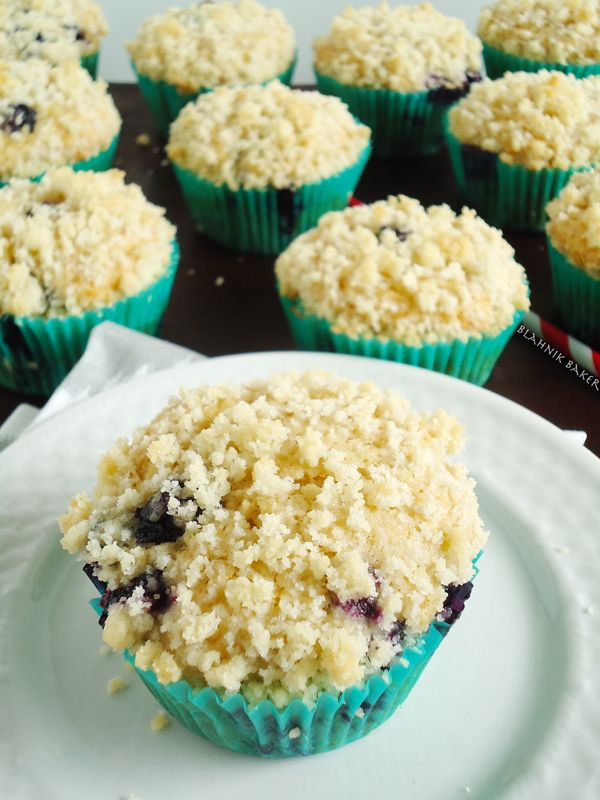 Brown Butter Blueberry Muffins | Cakes, Cookies & Baking | Pinterest