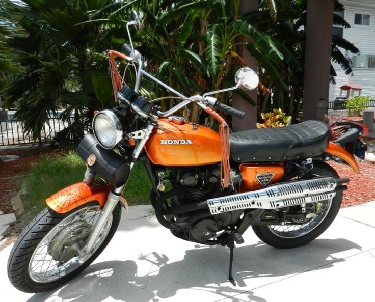 Honda dual sport motorcycles
