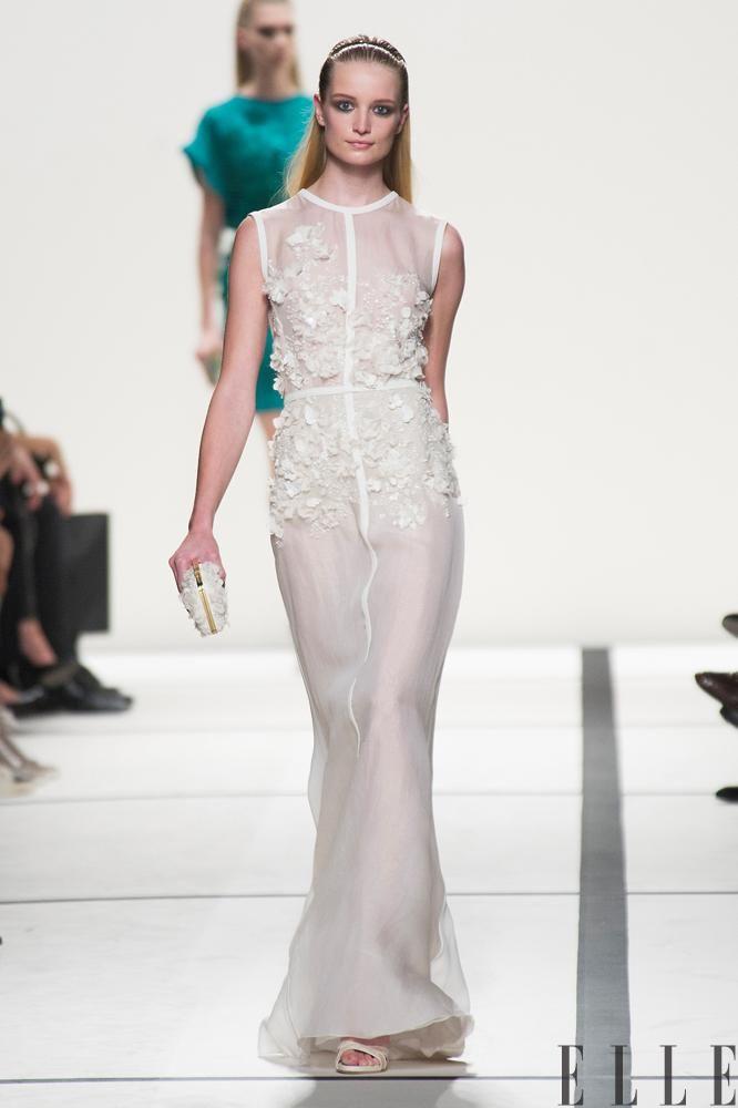 Robe de mariée: Inspirations des défilés printemps-été 2014 (Elie ...