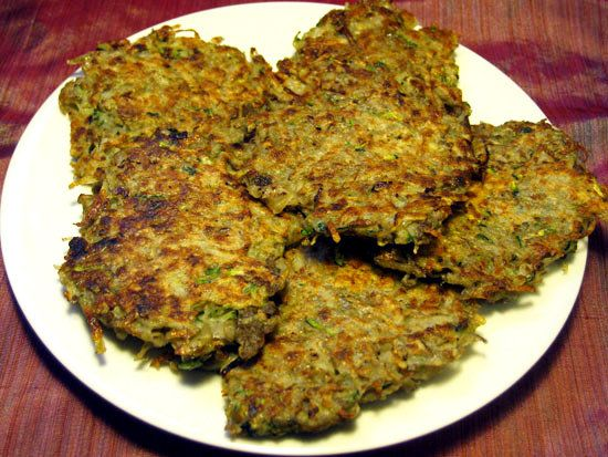 Healthy Dinner Idea: Zucchini Latkes