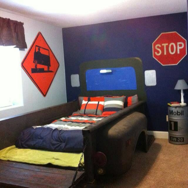 Man Cave With Bed : Chevy bed man cave pinterest
