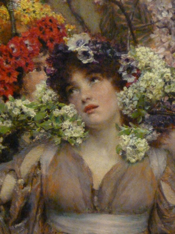 spring lawrence tadema In this sentimental evocation of a country may day ceremony, alma-tadema  recalls  reference: lawrence alma tadema: spring (1991) by louise lippincott .