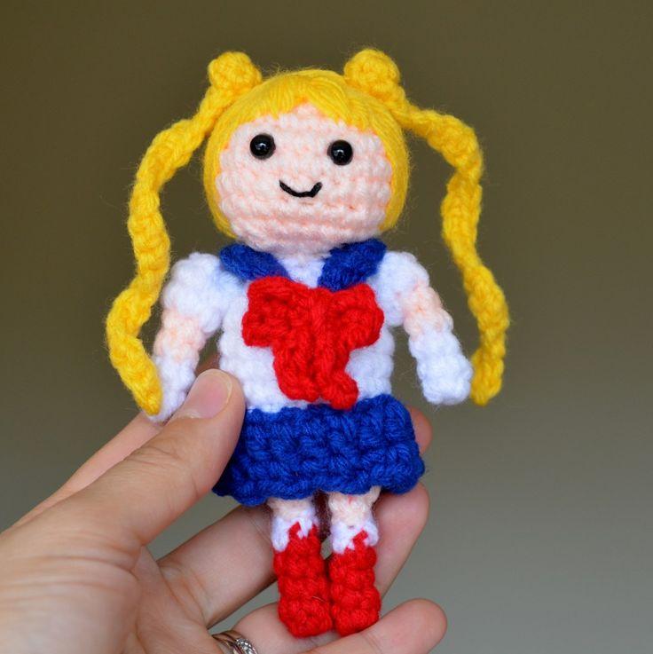 Sailor Moon Amigurumi Pattern