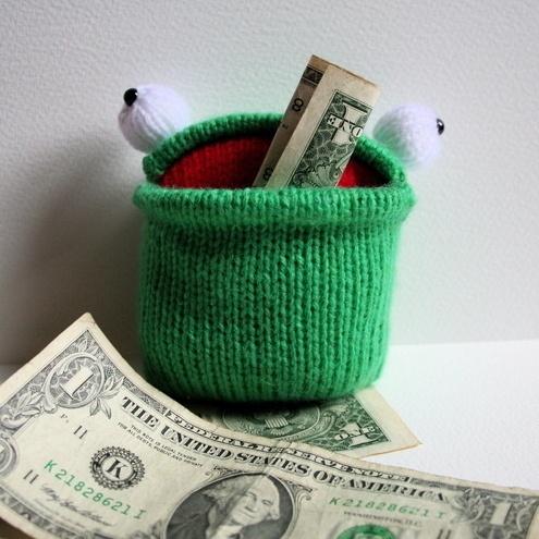 Ribbit Knit Frog - AllFreeKnitting.com - Free Knitting