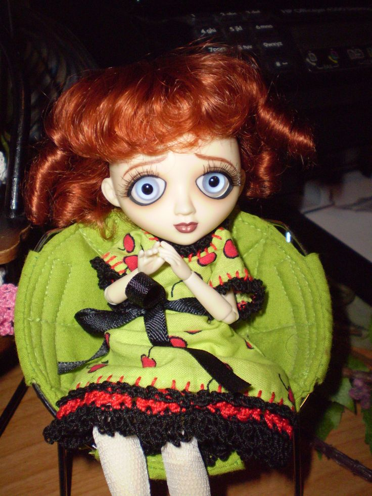 Sad Sally basic with new wig and eyes.   My Favorite Tonner & Wilde d ...
