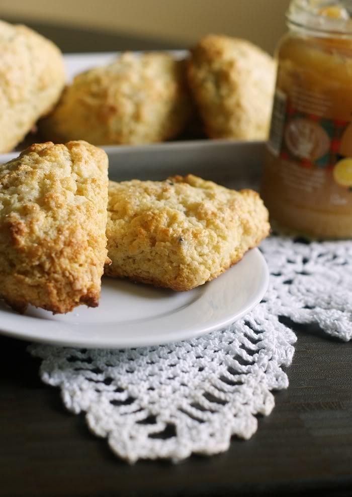 Lavender & Lemon Scones (recipe) | Sweet Muffins & Scones | Pinterest