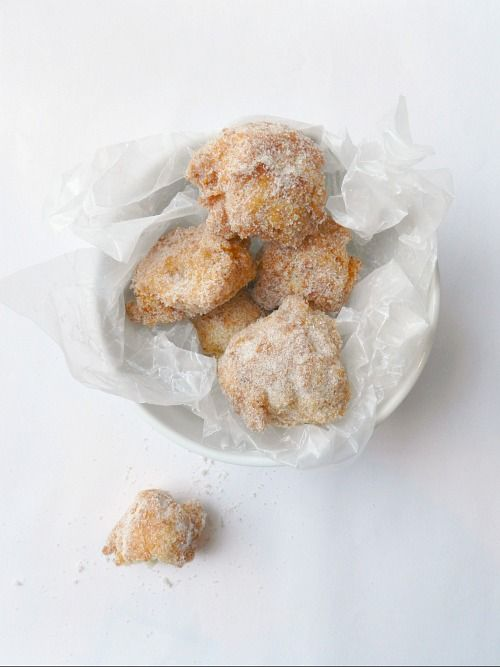 Brown Butter Donut Holes - Great website for homemade recipes