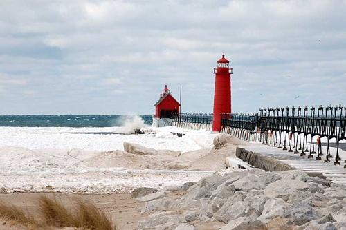 Grand Haven Michigan Wishful Vacations Spots Pinterest