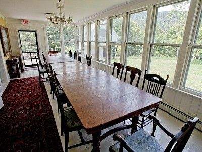 Dining room table seats 18 20 making it home pinterest for Dining table to seat 20