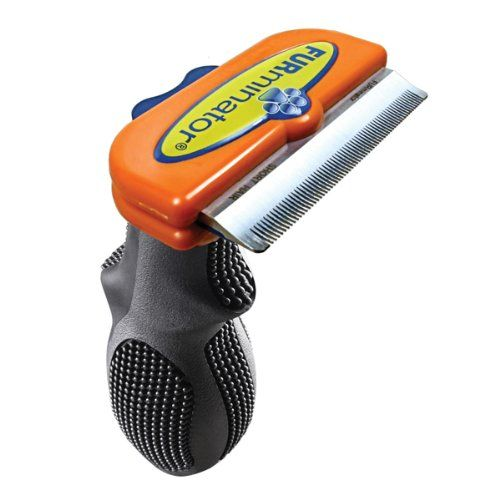 FURminator Short Hair deShedding Tool for Dogs, Medium Furminator,http
