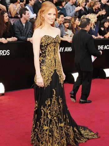 Jessica Chastain's Alexander McQueen Oscar Gown on Sale for $30,000