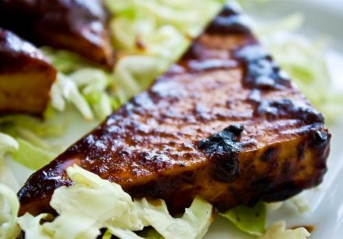 bbq tofu (can also grill it) | Recipes: Vegan/Vegetarian | Pinterest