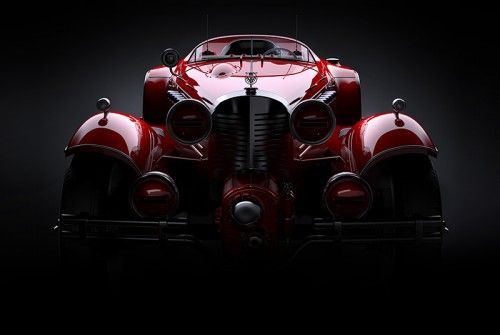 """I'm a big fan of Daniel Simon. His design work is gorgeous, beautifully detailed and hugely fun. Check out his new creation for the upcoming Captain America film that's set to be released in 2014: This #1942_Hydra_Coupé is the """"baddie's"""" mode of transport - love it! #Daniel_Simon #Rides #Automobiles #Design #Movie_Design #Design_for_Film"""