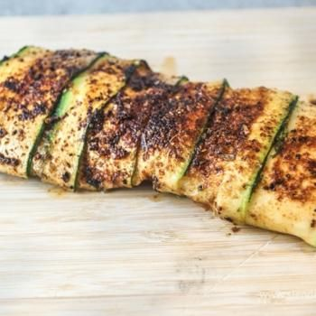 Blackened Zucchini Wrapped Fish | Gastronomy | Pinterest
