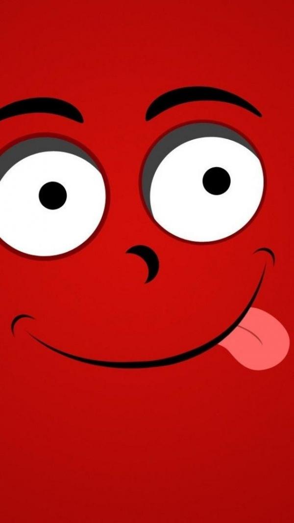 Funny Red Smile | Red : Black : White: pinterest.com/pin/500744052288563377