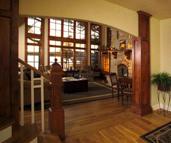 Craftsman Interior   For Planning   Pinterest