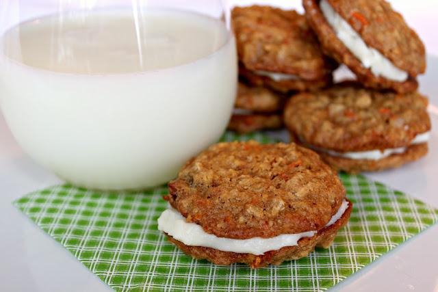 Carrot Cake Sandwich Cookies | Cookies | Pinterest