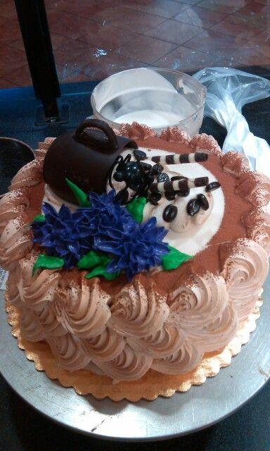 Mocha cake | cake | Pinterest